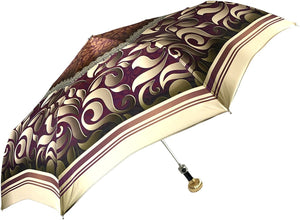 Women's Folding Umbrella - New Exclusive Design - IL MARCHESATO LUXURY UMBRELLAS, CANES AND SHOEHORNS