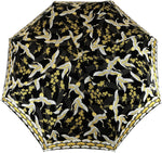 Load image into Gallery viewer, Women's Folding Umbrella - Wonderful Heron Design - IL MARCHESATO LUXURY UMBRELLAS, CANES AND SHOEHORNS