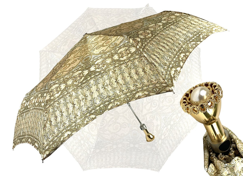 luxury folding umbrella baroque design