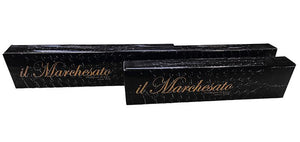 Handcrafted Leather Seat Umbrella - Black Color - IL MARCHESATO LUXURY UMBRELLAS, CANES AND SHOEHORNS