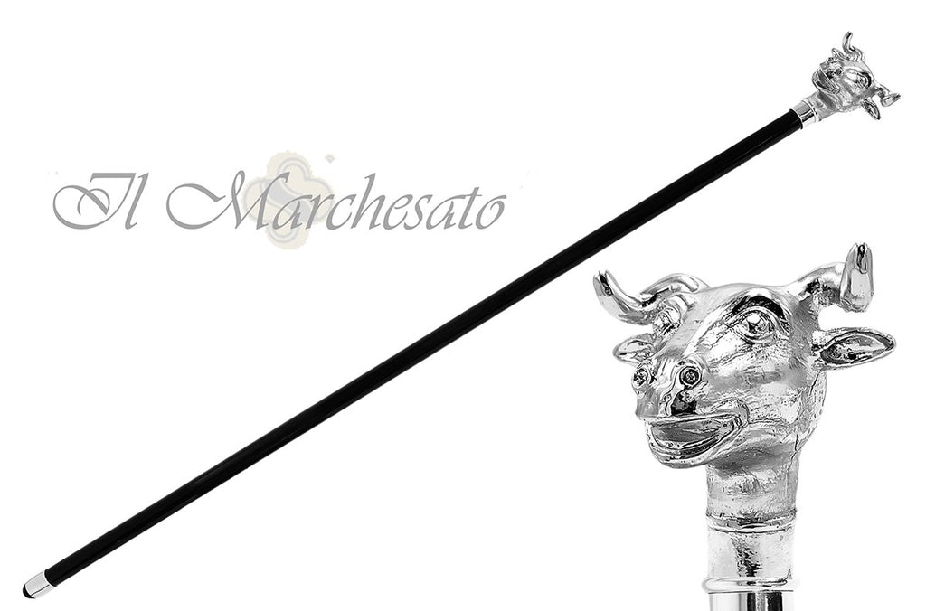 Silver plated Bull collection - il-marchesato