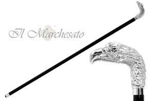 Bright Silver plated Hawk - il Marchesato collection - il-marchesato