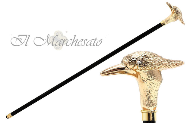 Golden woodpecker Walking stick - il-marchesato