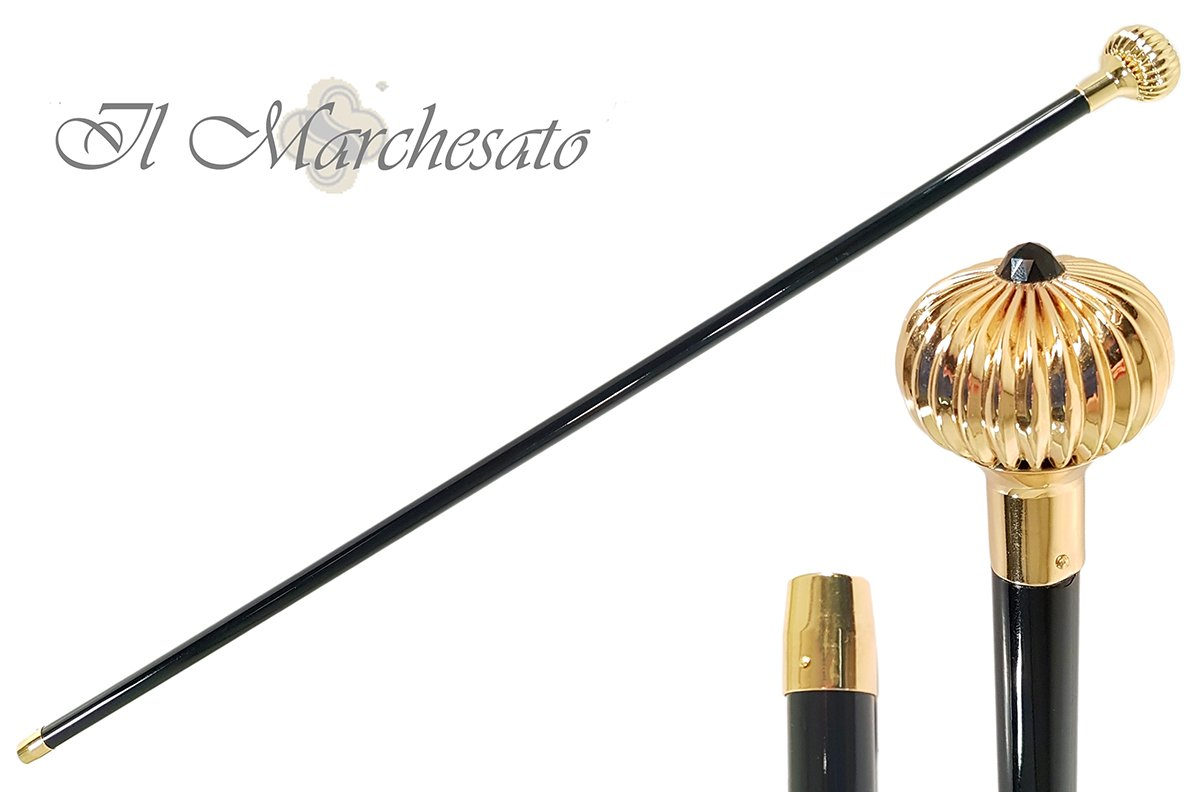 Brass onion Walking Stick collection - il-marchesato