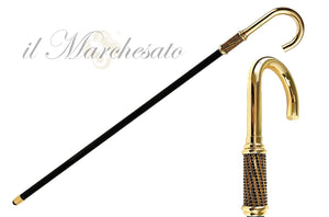 Luxury Walking stick for Men - IL MARCHESATO LUXURY UMBRELLAS, CANES AND SHOEHORNS