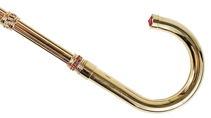 "Exclusive ""ilMarchesato"" Walking stick - Goldplated 24K"