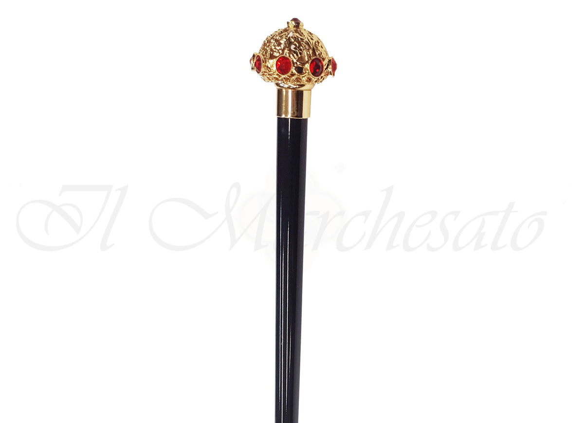Fine Walking Sticks - Red Swarovski Strass