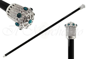 Evening Cane With Swarovski Elements - il-marchesato