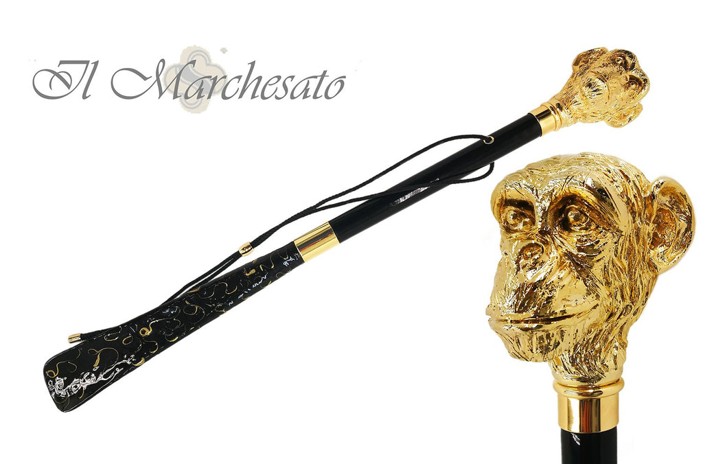 Luxurious Monkey Shoehorn By il Marchesato - il-marchesato