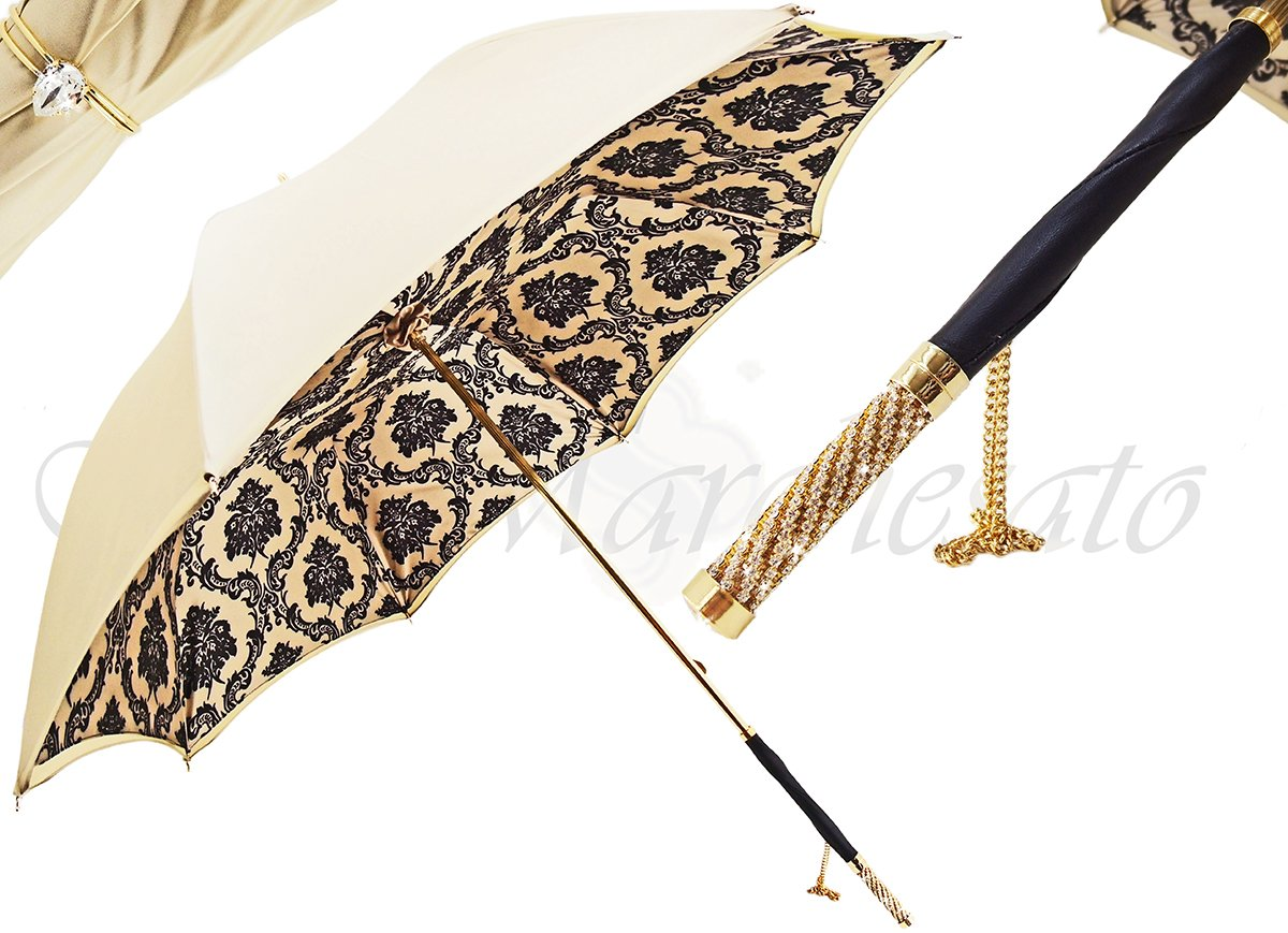 Stylish Baroque Design - Handmade Fashion Umbrella For Women - il-marchesato