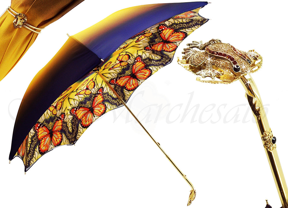 Very Original Umbrella, with Frog Subject - il-marchesato