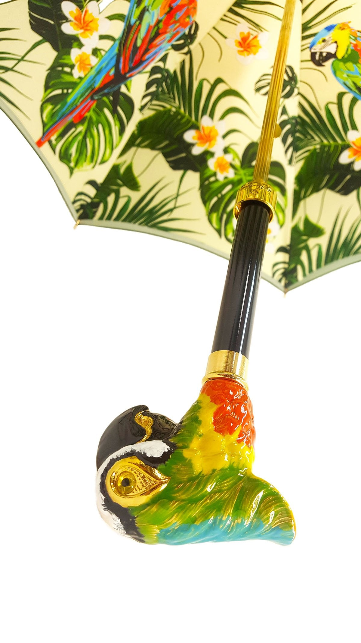 LUXURY PARROT UMBRELLA