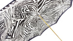 Load image into Gallery viewer, Amazing Zebra Umbrella Enamel on 24K gold - il-marchesato
