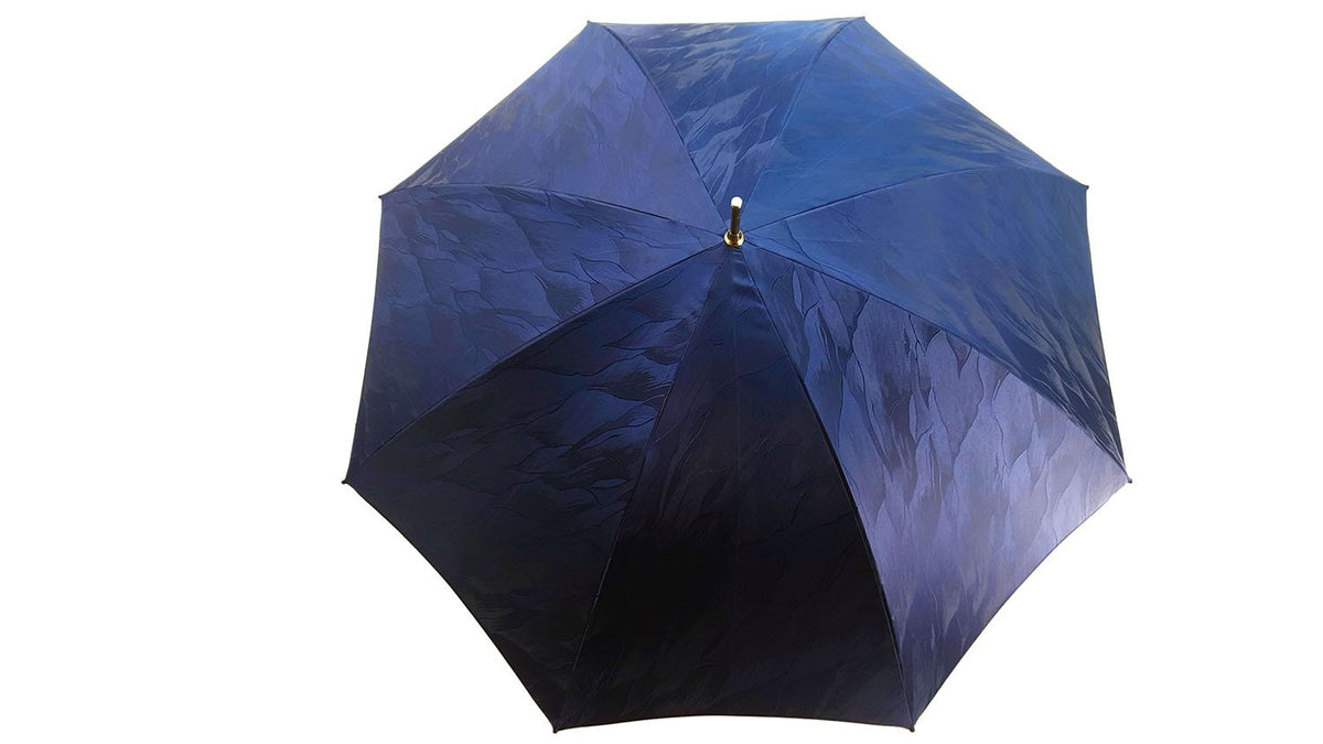 Amazing Zebra Umbrella Enamel on 24K gold - il-marchesato