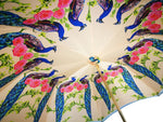 Load image into Gallery viewer, Swan Umbrella Amazing Enamel On Gold - il-marchesato