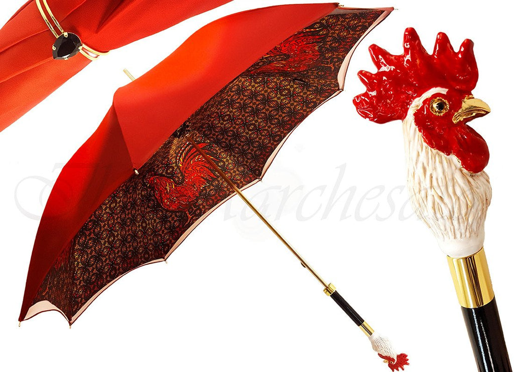 il Marchesato Rooster Umbrella - il-marchesato