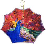 Load image into Gallery viewer, Fanciful Umbrella With peacock Design - il-marchesato