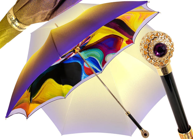 IL MARCHESATO DOUBLE CANOPY UMBRELLA