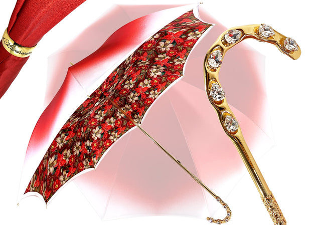 IL MARCHESATO HANDMADE FLOWERED UMBRELLA