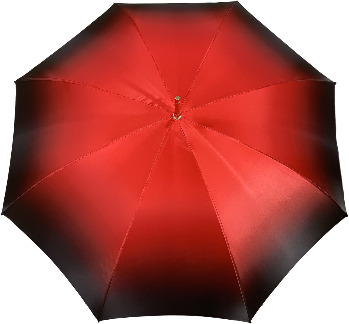 Red Double Canopy Luxury Ladies Umbrella - il-marchesato