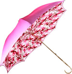 Load image into Gallery viewer, Lovely Shade Fuchsia/Pink Umbrella - Exclusive Flower Design - il-marchesato