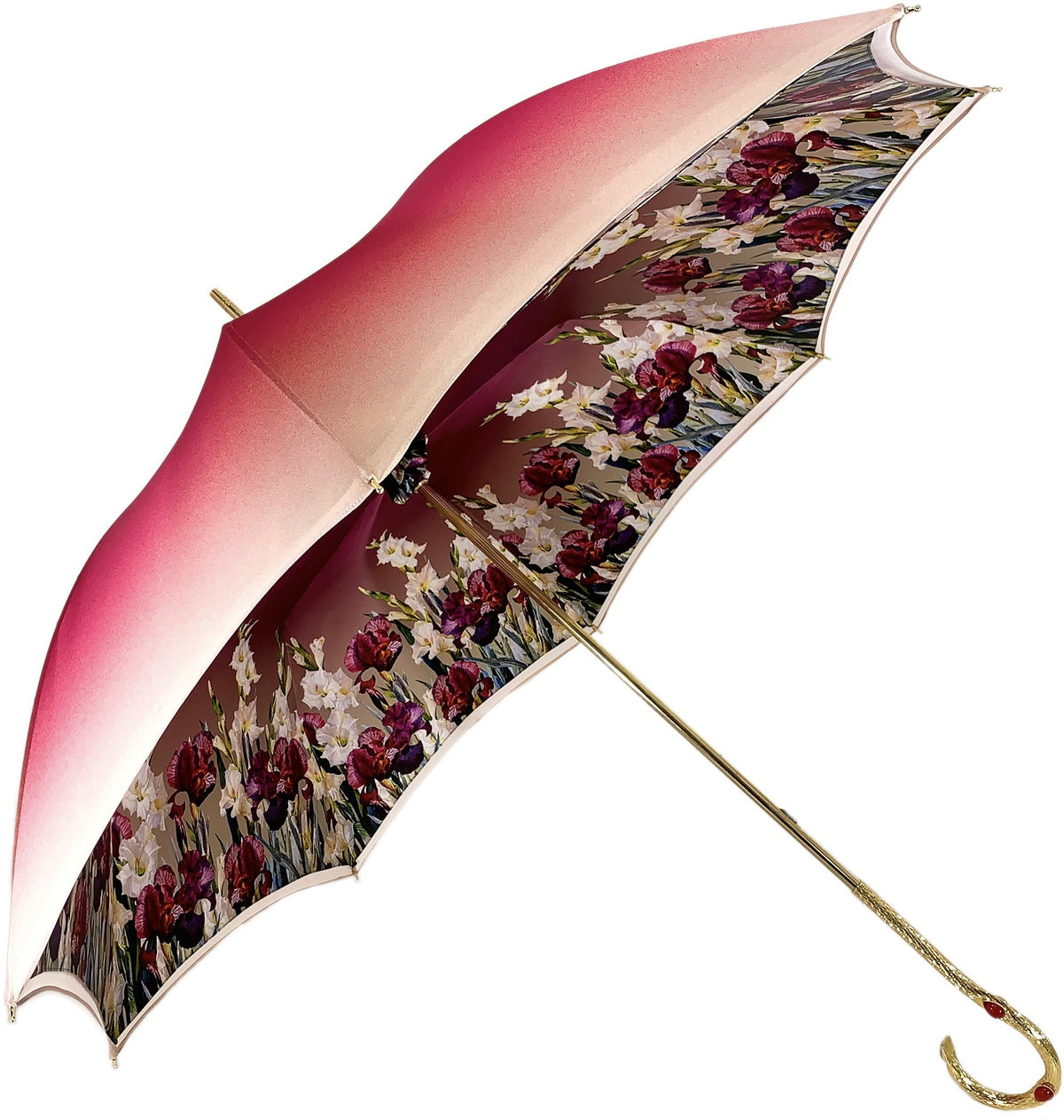 Luxury Poppies Umbrella - New Exclusive Design - il-marchesato