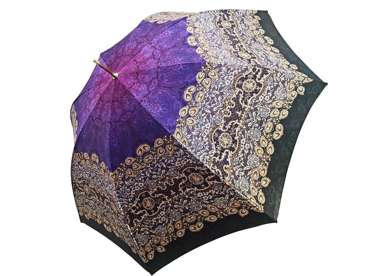 Handmade Luxury Women's Double Cloth Umbrellas - il-marchesato