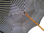 Load image into Gallery viewer, Double Cloth Men's Umbrella - Blue Striped Design - il-marchesato