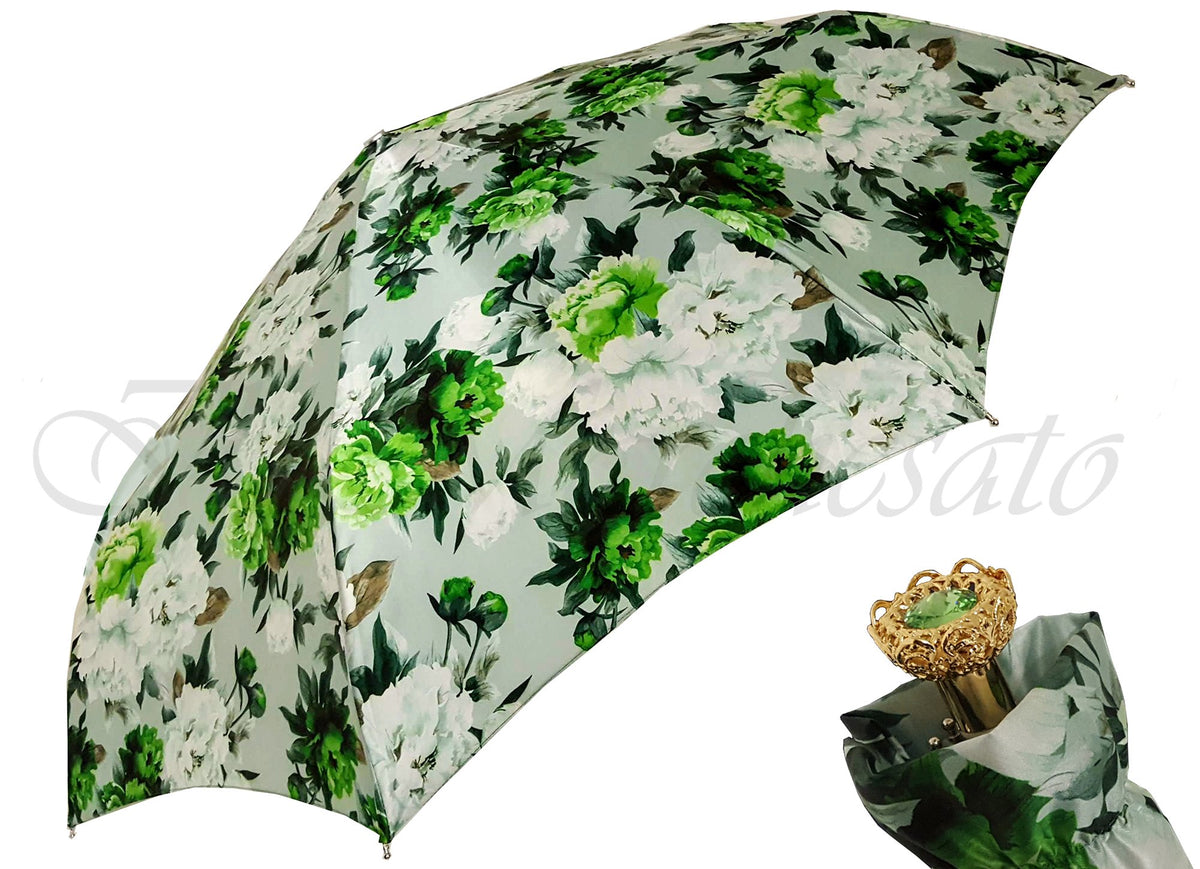 Beautiful Flowered Umbrella - il-marchesato