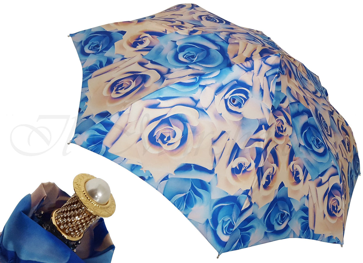 jewel compact roses umbrella