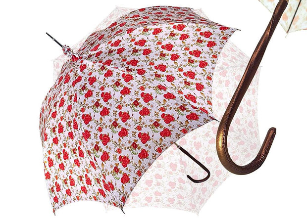 RED ROSES PARASOL