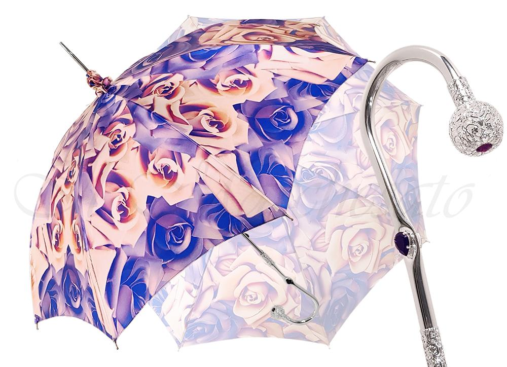 Exclusive Rose Design - Beautiful Silver Plated Handle - il-marchesato