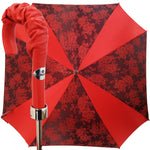 Load image into Gallery viewer, Cool Red Square Women Umbrella - il-marchesato