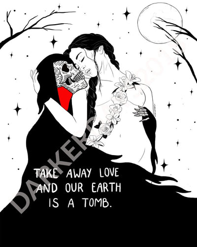 Earth Is A Tomb Print Throwback Prints