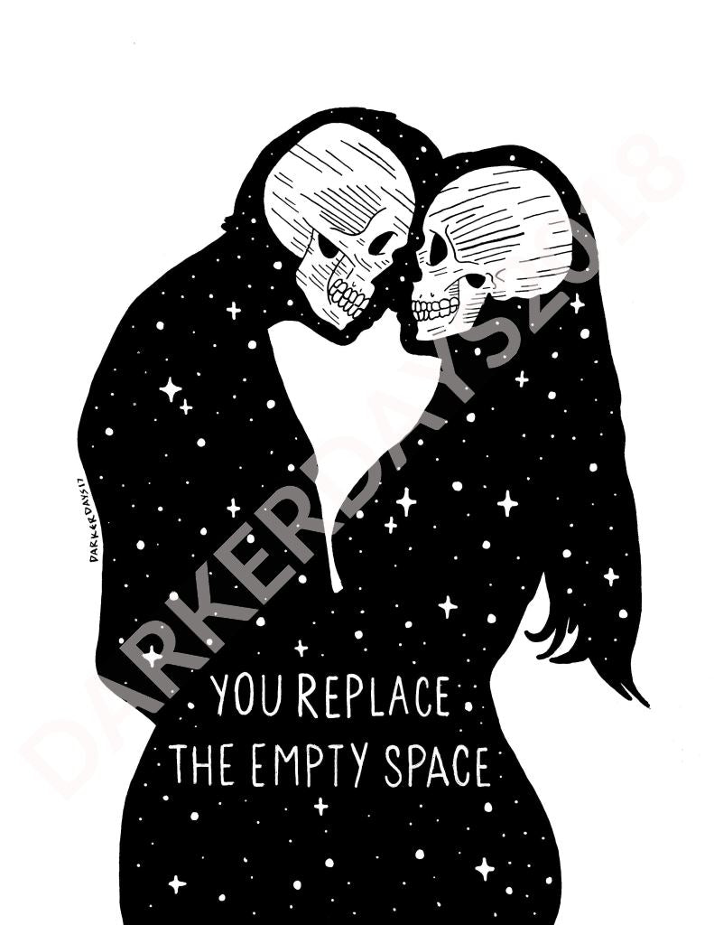 Empty Space Print Throwback Prints