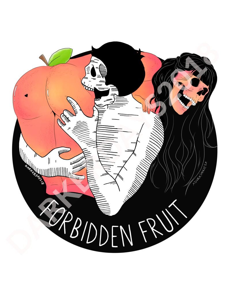 Forbidden Fruit Print Collab W/@dvrkshines Prints