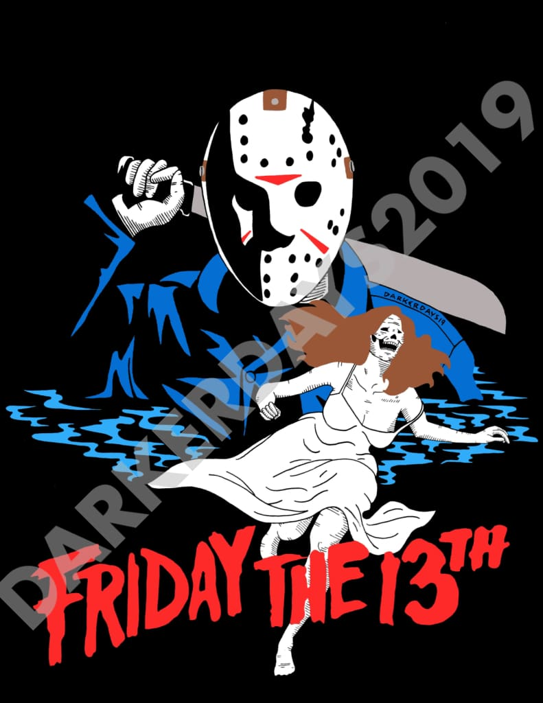 Friday The 13Th Print Prints