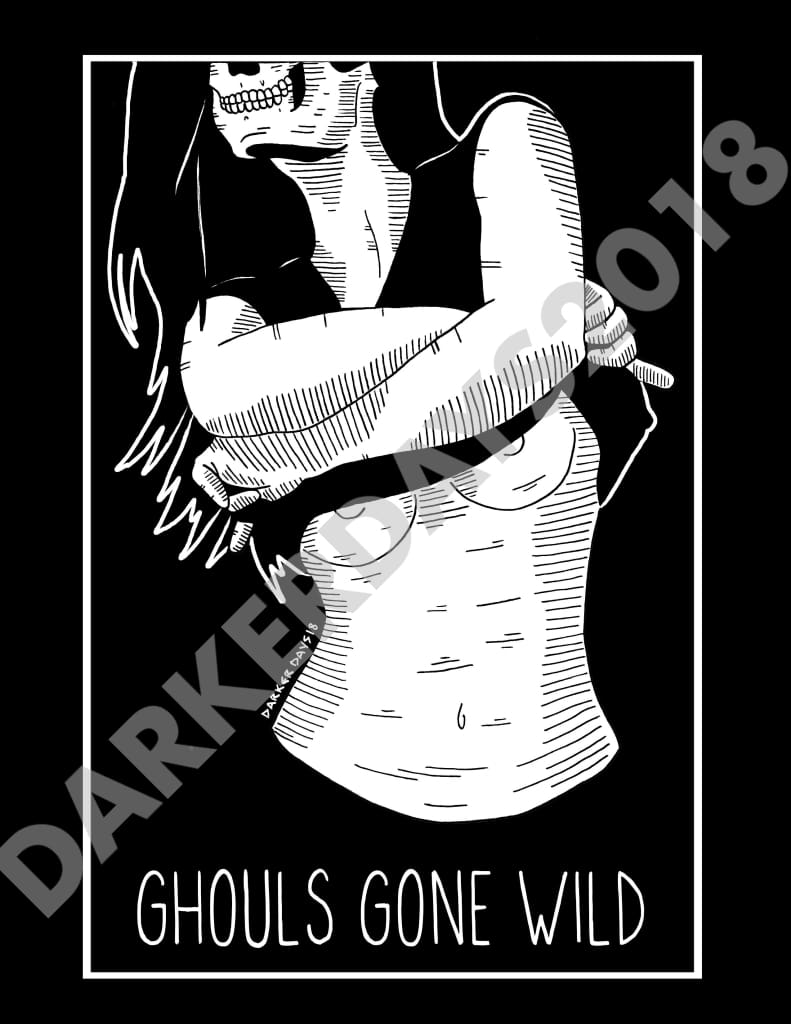 Ghouls Gone Wild Print Prints
