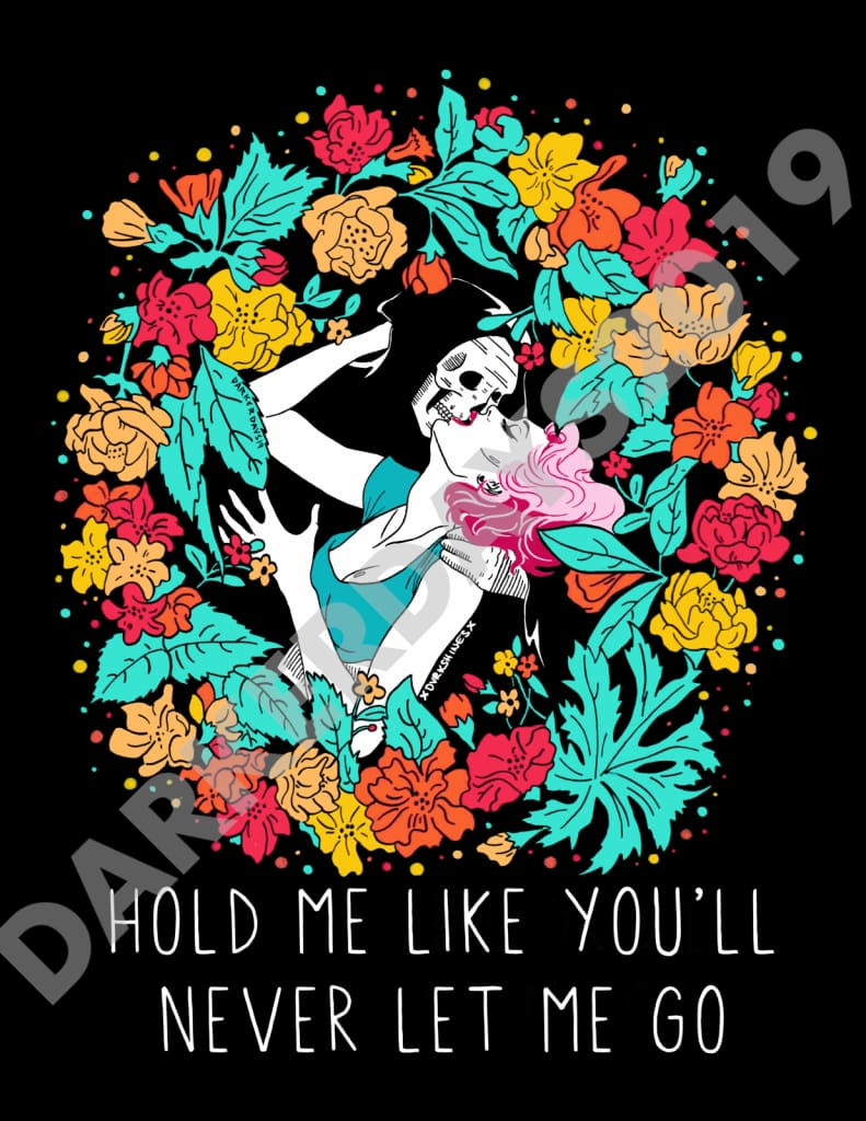 Hold Me Print Collab. W/@dvrkshines Prints