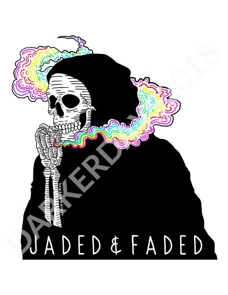Jaded & Faded Print Throwback Prints