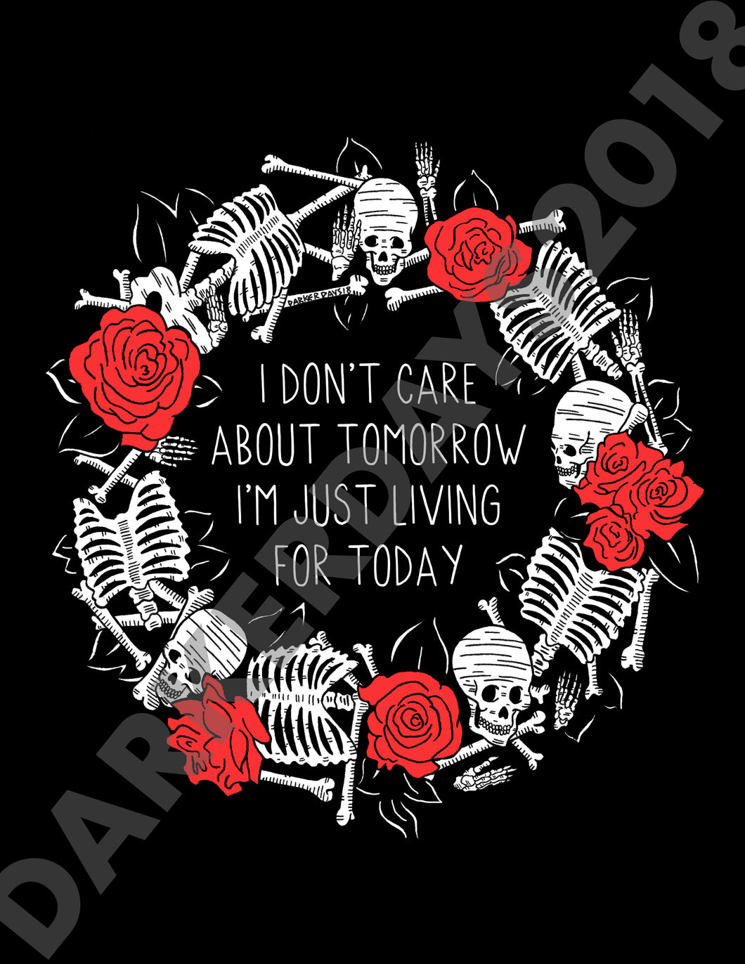 Living For Today Print
