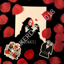 Soulmates Valentines Day Card Merch