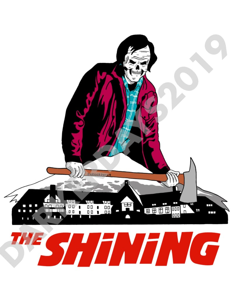 The Shining Print (No Background Text) Prints