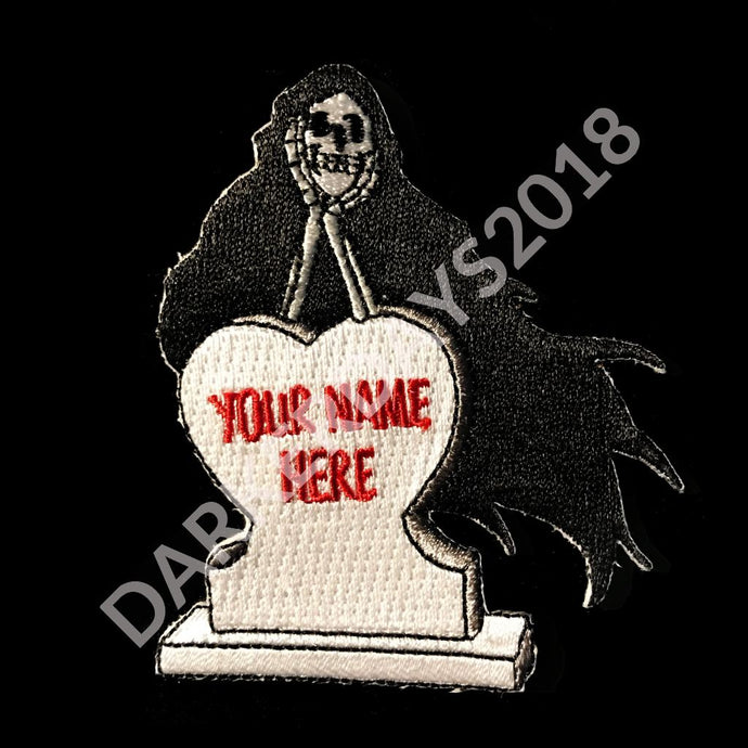 Your Name Here Patch Merch
