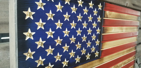f07ad1faad9b Bullet Casing With Stars American Flag Concealment Cabinet – The ...