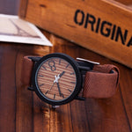 Women's Wooden Watch / Causal After 8 (4 colors)