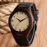 Men's Wooden Watch / Classic Casual