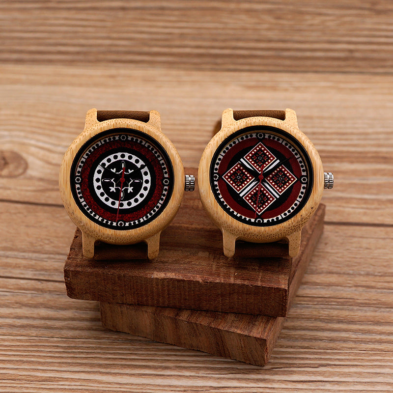 BOBO BIRD Women Bamboo Designer Wooden Watch