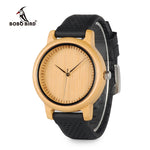 BOBO BIRD Luxury Bamboo Wood Watch