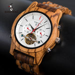 BOBO BIRD Luxury Mechanical Wooden Watch